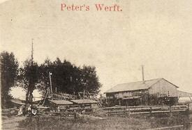 1903 Wewelsfleth - Peters Werft