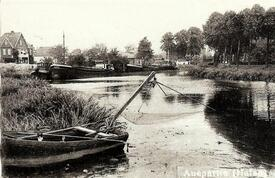 1962 Wilsterau, Hafen am Brook in Wilster