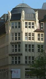 """Galerie Commeter"" an der Hermannstraße in Hamburg"