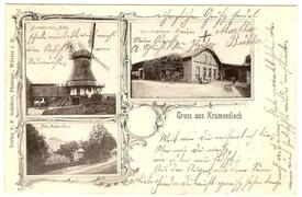 1901 Krummendiek, Mühle in Krummendiek an der Bekau